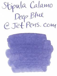 Stipula Calamo Fountain Pen Ink - 70 ml Bottle - Deep Blue - STIPULA STN48901