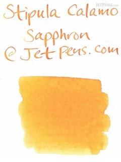 Stipula Calamo Fountain Pen Ink - 70 ml Bottle - Saffron Yellow - STIPULA STN48905