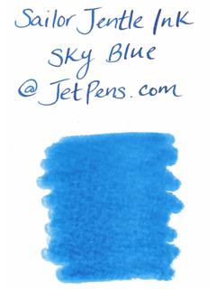 Sailor Fountain Pen Jentle Ink - 50 ml Bottle - Sky Blue - SAILOR 13-1000-241