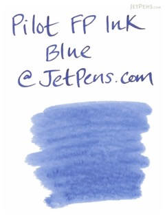 Pilot Blue Fountain Pen Ink - 70 ml Bottle - PILOT INK-70-L