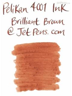 Pelikan 4001 Brilliant Brown Ink - 62.5 ml Bottle - PELIKAN 329185