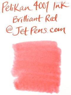 Pelikan 4001 Brilliant Red Ink - 30 ml Bottle - PELIKAN 301036