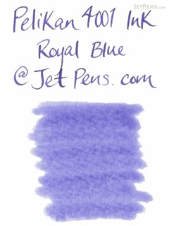 Pelikan 4001 Royal Blue Ink - 62.5 ml Bottle - PELIKAN 329136