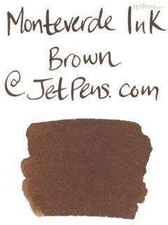 Monteverde Brown Ink - 90 ml Bottle - MONTEVERDE G308BN