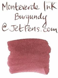 Monteverde Burgundy Ink - 90 ml Bottle - MONTEVERDE G308BG