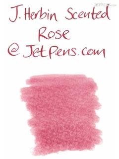 J. Herbin Rose Red Ink - Scented - 30 ml Bottle - J. HERBIN H137/68