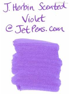 J. Herbin Violet Purple Ink - Scented - 30 ml Bottle - J. HERBIN H137/77