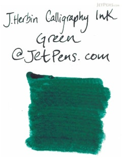 J. Herbin Green Calligraphy Ink - for Dip Pen - 50 ml Bottle - J. HERBIN H114/30