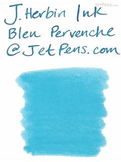 J. Herbin Bleu Pervenche Ink (Periwinkle Blue) - 30 ml Bottle - J. HERBIN H130/13