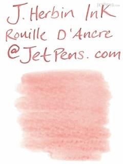 J. Herbin Rouille d'Ancre Ink (Rusty Anchor Red) - 30 ml Bottle - J. HERBIN H130/58
