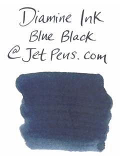 Diamine Fountain Pen Ink Cartridge - Blue Black - Pack of 18 - DIAMINE INK 8001