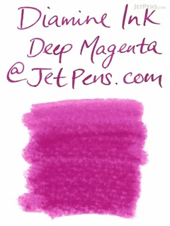 Diamine Deep Magenta Ink - 80 ml Bottle - DIAMINE INK 7030