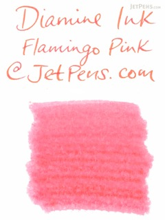 Diamine Flamingo Pink Ink - 80 ml Bottle - DIAMINE INK 7026