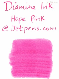 Diamine Hope Pink Ink - 80 ml Bottle - DIAMINE INK 7059