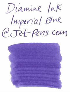 Diamine Fountain Pen Ink Cartridge - Imperial Blue - Pack of 18 - DIAMINE INK 8068