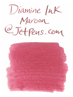 Diamine Fountain Pen Ink Cartridge - Maroon - Pack of 18 - DIAMINE INK 8008