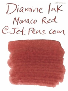Diamine Monaco Red Ink - 18 Cartridges - DIAMINE INK 8009