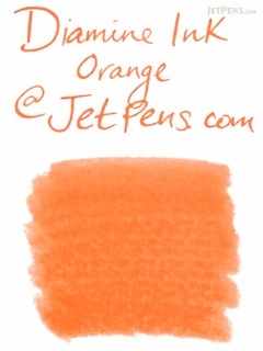 Diamine Orange Ink - 18 Cartridges - DIAMINE INK 8017