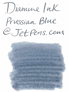 Diamine Fountain Pen Ink Cartridge - Prussian Blue - Pack of 18 - DIAMINE INK 8018