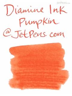 Diamine Pumpkin Ink - 80 ml Bottle - DIAMINE INK 7054