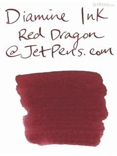 Diamine Red Dragon Ink - 80 ml Bottle - DIAMINE INK 7077