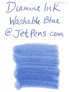 Diamine Washable Blue Ink - 80 ml Bottle - DIAMINE INK 7044