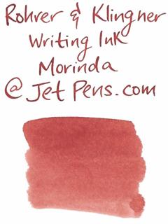 Rohrer & Klingner Writing Ink - 50 ml Bottle - Morinda (Morinda Red) - ROHRER-KLINGNER 40 308 050