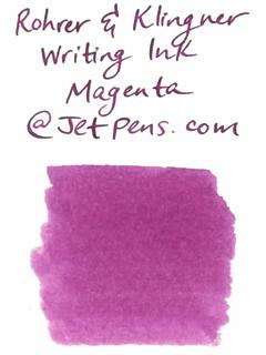 Rohrer & Klingner Writing Ink - 50 ml Bottle - Magenta (Magenta Pink) - ROHRER-KLINGNER 40 320 050