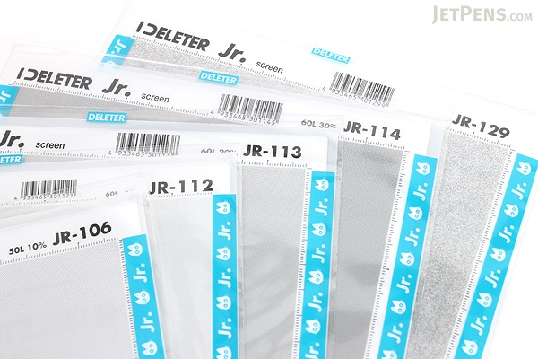 Deleter Jr. Screen Tone -182 mm x 253 mm - JR-113 - DELETER JR-113