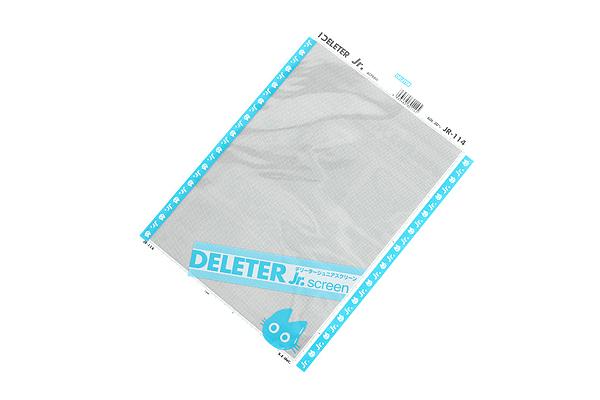 Deleter Jr. Screen Tone -182 mm x 253 mm - JR-114 - DELETER JR-114