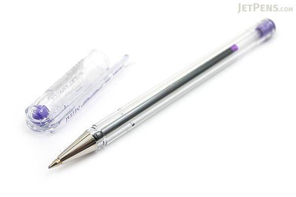 Pentel Superb Mini Ballpoint Pen - 0.7 mm - Violet - PENTEL BK77S-V