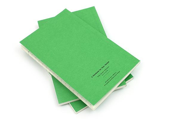 "Princeton Architectural Press Pocket Dept. Shirt Pocket Notebook - 3.5"" x 5.5"" - Lined - Pack of 3 - PRINCETON AP 978-1-61689-202-9"