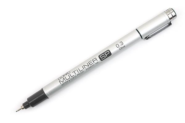Copic Multiliner SP Pen - 0.3 mm - Olive - COPIC MLSPO03