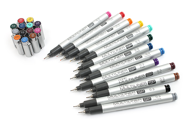 Copic Multiliner SP Pen - 0.3 mm - Sepia - COPIC MLSPS03