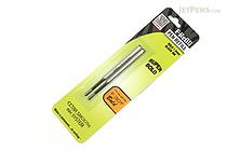 Zebra F-Refill Ballpoint Pen Refill - 1.6 mm - Black - Pack of 2 - ZEBRA 82712