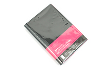 Lihit Lab The Design Mind Company System Binder - Red Pink - LIHIT LAB D7260-3