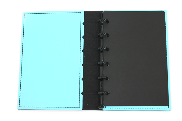 Lihit Lab The Design Mind Company System Binder - Light Blue - LIHIT LAB D7260-14