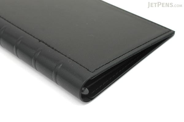 Lihit Lab The Design Mind Company System Binder - Black - LIHIT LAB D7260-24