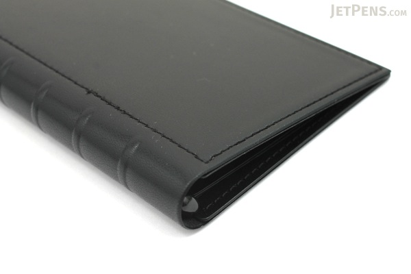 Lihit Lab The Design Mind Company System Binder - Black - LIHIT LAB D7260-24