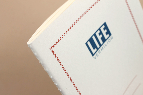 Life Vermilion Notebook - A6 - Lined - LIFE N69