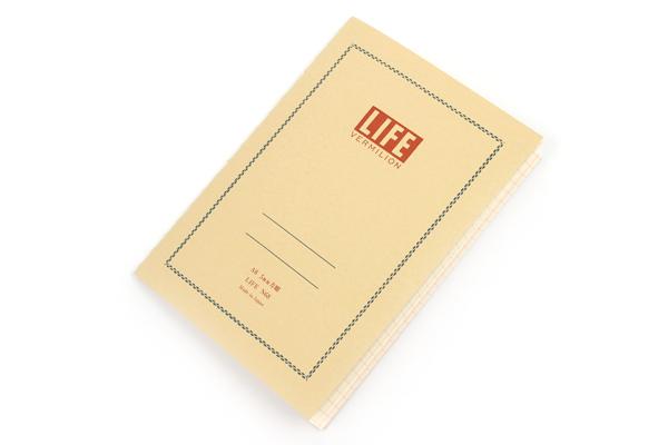 Life Vermilion Notebook - A6 - Graph - LIFE N68
