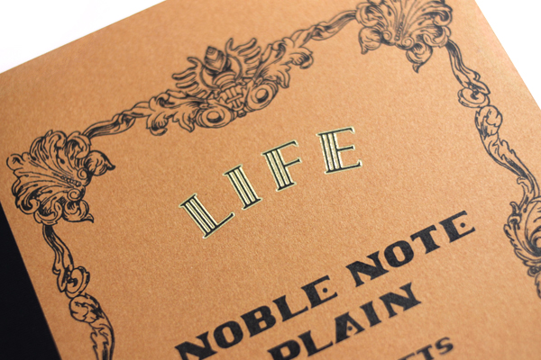 Life Noble Notebook - A5 - Plain - LIFE N36