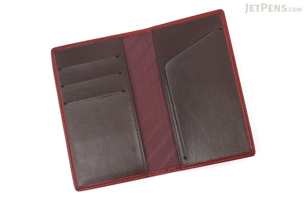 Raymay Gloire Notebook Cover - Compact Size - Wine - RAYMAY GCC159Z