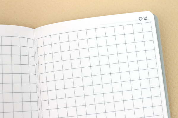 Raymay Gloire Notebook Refill - Compact Size - Grid - 5 mm Graph - RAYMAY GCR24
