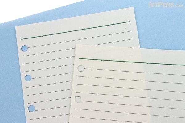 Raymay Davinci Refill Pages - Pocket Size - 5 mm Ruled - 30 Sheets - RAYMAY DPR207
