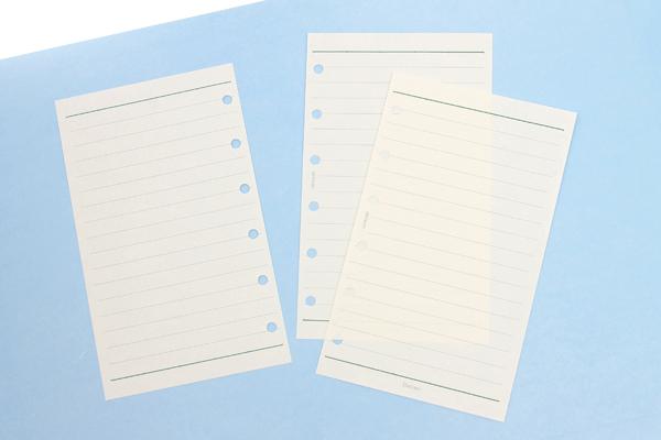 Raymay Davinci Refill Pages - Pocket Size - 6.5 mm Ruled - 30 Sheets - RAYMAY DPR208