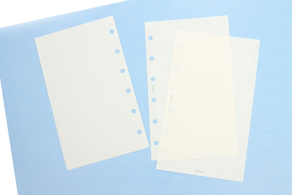 Raymay Davinci Refill Pages - Pocket Size - Plain - 100 Sheets - RAYMAY DPR264L