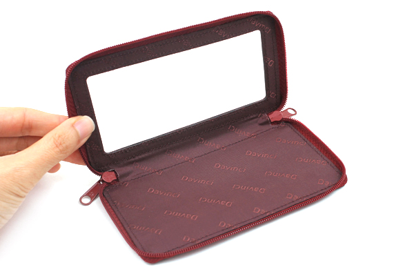 Raymay Davinci Smartphone Case for System Binder - Size S - Wine - RAYMAY DR228Z