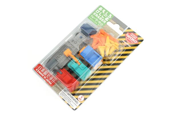 Iwako Trailer Set Novelty Eraser - 5 Piece Set - IWAKO ER-BRI032