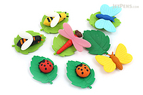 Iwako Bugs Fellow Novelty Eraser - 14 Piece Set - IWAKO ER-BRI029